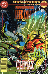 Cover Thumbnail for Batman: Legends of the Dark Knight (DC, 1992 series) #63 [Newsstand]