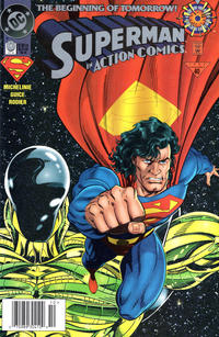 Cover Thumbnail for Action Comics (DC, 1938 series) #0 [Newsstand]