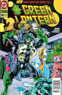 Cover Thumbnail for Green Lantern (DC, 1990 series) #56 [Newsstand]