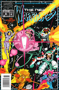 Cover Thumbnail for The New Warriors (Marvel, 1990 series) #41 [Newsstand]