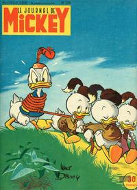 Cover Thumbnail for Le Journal de Mickey (Hachette, 1952 series) #256