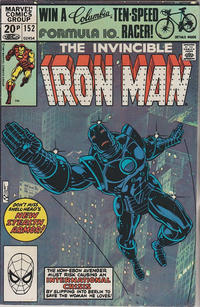 Cover Thumbnail for Iron Man (Marvel, 1968 series) #152 [British]