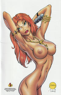 """Cover Thumbnail for Catfight: Dream Into Action (Lightning Comics [1990s], 1996 series) #1 [Nude (B) """"Cat Stretch""""]"""