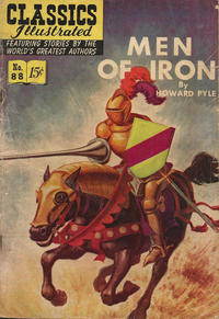 Cover Thumbnail for Classics Illustrated (Gilberton, 1947 series) #88 [O] - Men of Iron [HRN 154]