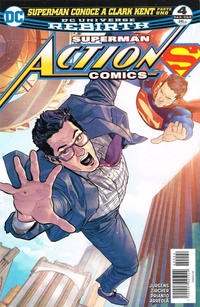 Cover Thumbnail for Superman Action Comics (Editorial Televisa, 2017 series) #4 (963-964)