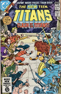 Cover Thumbnail for The New Teen Titans (DC, 1980 series) #12 [Direct]