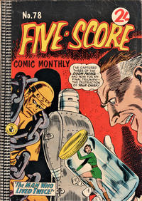 Cover Thumbnail for Five-Score Comic Monthly (K. G. Murray, 1961 series) #78