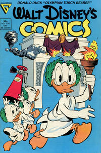 Cover Thumbnail for Walt Disney's Comics and Stories (Gladstone, 1986 series) #535 [Newsstand]