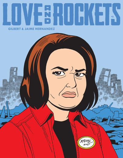 Cover for Love and Rockets (Fantagraphics, 2016 series) #5 [Original]