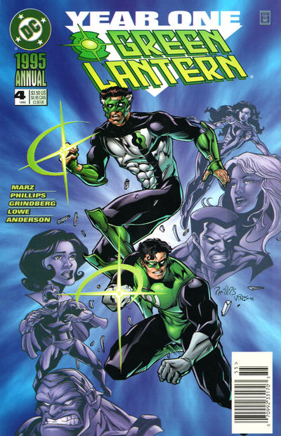 Cover for Green Lantern Annual (DC, 1992 series) #4 [Direct Sales]