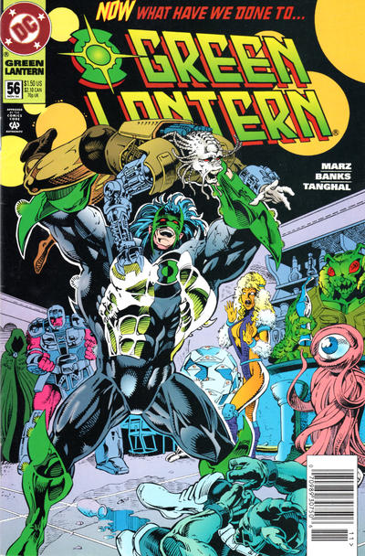 Cover for Green Lantern (DC, 1990 series) #56 [Direct Sales]