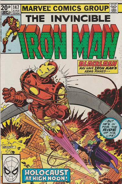 Cover for Iron Man (Marvel, 1968 series) #147 [Direct]