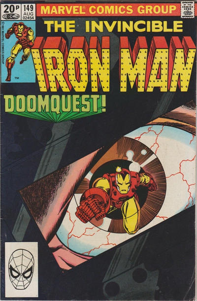 Cover for Iron Man (Marvel, 1968 series) #149 [Direct]