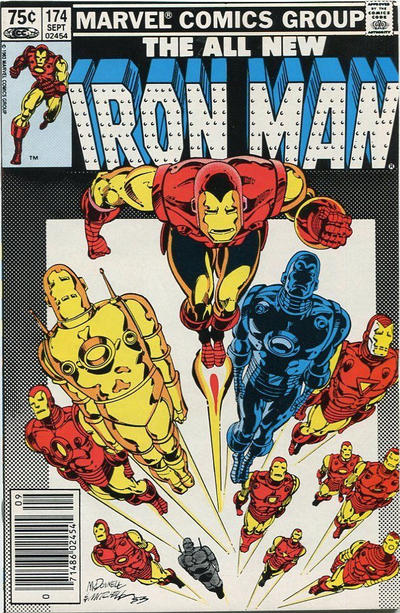 Cover for Iron Man (Marvel, 1968 series) #174 [Newsstand]