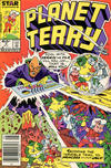 Cover for Planet Terry (Marvel, 1985 series) #2 [Newsstand]