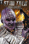 Cover for Star Trek: Discovery: The Light of Kahless (IDW, 2017 series) #4 [Cover A]