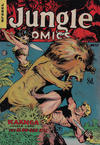 Cover for Jungle Comics (H. John Edwards, 1950 ? series) #37