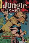 Cover for Jungle Comics (H. John Edwards, 1950 ? series) #37