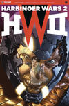 Cover for Harbinger Wars 2 (Valiant Entertainment, 2018 series) #1 [Cover B - Mico Suayan]