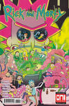 Cover for Rick and Morty (Oni Press, 2015 series) #38 [Cover B - Julia Scott]