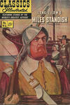 Cover for Classics Illustrated (Gilberton, 1947 series) #92 [O] - The Courtship of Miles Standish and Evangeline [HRN 166]