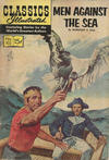 Cover for Classics Illustrated (Gilberton, 1947 series) #103 [O] - Men Against the Sea [HRN 158]