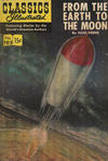 Cover for Classics Illustrated (Gilberton, 1947 series) #105 - From the Earth to the Moon [HRN 156]