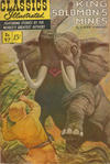 Cover for Classics Illustrated (Gilberton, 1947 series) #97 [O] - King Solomon's Mines [HRN 167]