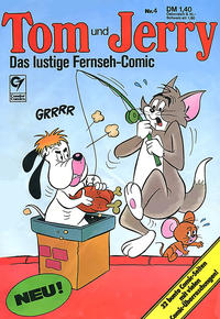 Cover Thumbnail for Tom & Jerry (Condor, 1976 series) #4