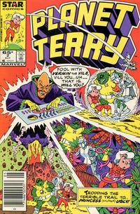 Cover Thumbnail for Planet Terry (Marvel, 1985 series) #2 [Newsstand]