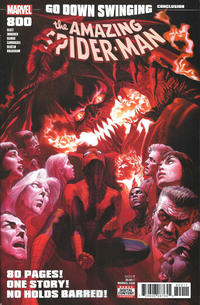 Cover Thumbnail for Amazing Spider-Man (Marvel, 2015 series) #800 [Regular Edition - Alex Ross]