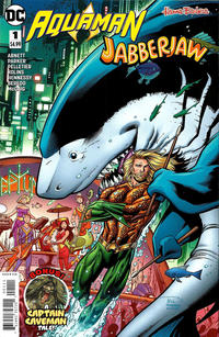 Cover Thumbnail for Aquaman / Jabberjaw Special (DC, 2018 series) #1