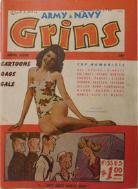 Cover Thumbnail for Army & Navy Grins (Harvey, 1944 series) #6