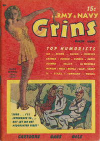 Cover Thumbnail for Army & Navy Grins (Harvey, 1944 series) #8