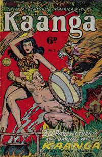 Cover Thumbnail for Kaänga Comics (H. John Edwards, 1950 ? series) #2
