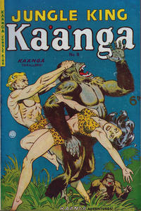 Cover Thumbnail for Kaänga Comics (H. John Edwards, 1950 ? series) #8