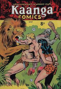 Cover Thumbnail for Kaänga Comics (H. John Edwards, 1950 ? series) #29