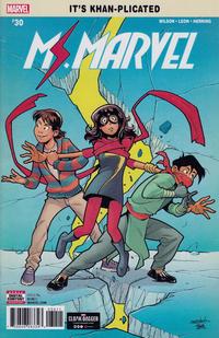 Cover Thumbnail for Ms. Marvel (Marvel, 2016 series) #30