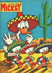 Cover Thumbnail for Le Journal de Mickey (Disney Hachette Presse, 1952 series) #336