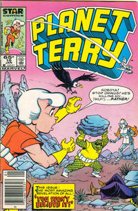 Cover Thumbnail for Planet Terry (Marvel, 1985 series) #10 [Newsstand]
