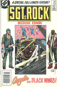Cover Thumbnail for Sgt. Rock (DC, 1977 series) #405 [Canadian]