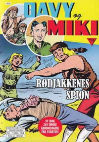 Cover Thumbnail for Davy og Miki (Hjemmet / Egmont, 2014 series) #16