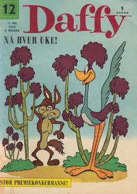Cover Thumbnail for Daffy (Allers Forlag, 1959 series) #12/1960