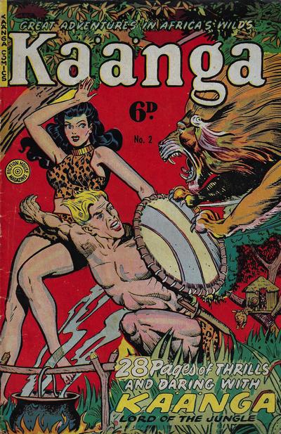 Cover for Kaänga Comics (H. John Edwards, 1950 ? series) #2