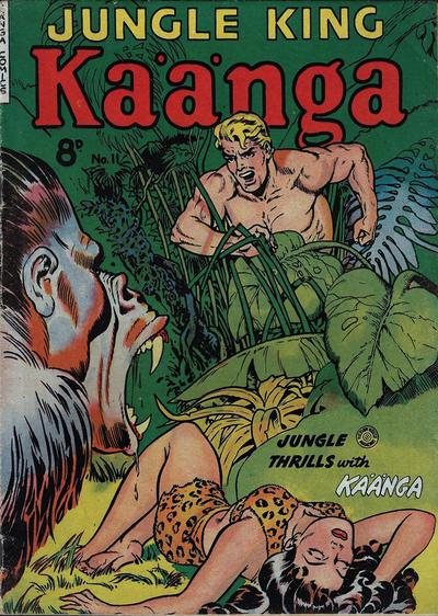 Cover for Kaänga Comics (H. John Edwards, 1950 ? series) #11
