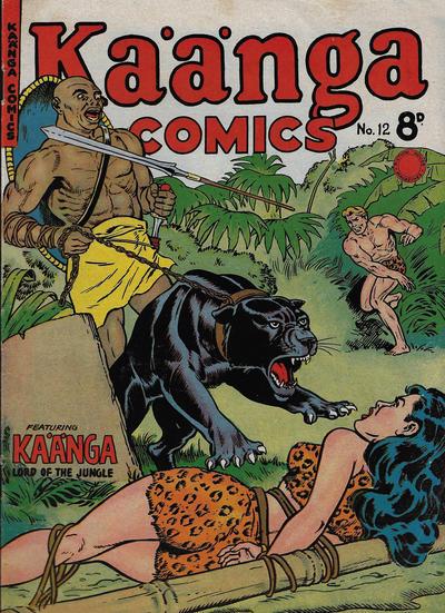 Cover for Kaänga Comics (H. John Edwards, 1950 ? series) #12