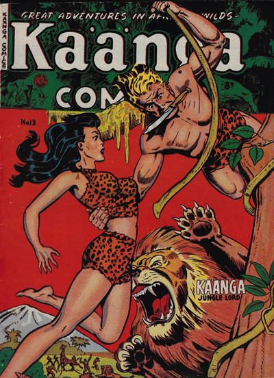 Cover for Kaänga Comics (H. John Edwards, 1950 ? series) #13
