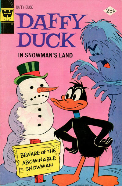 Cover for Daffy Duck (Western, 1962 series) #98 [Gold Key]