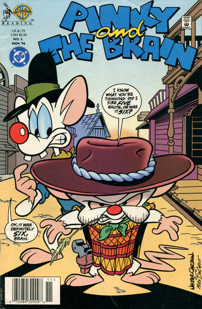 Cover for Pinky and the Brain (DC, 1996 series) #5 [Direct Sales]