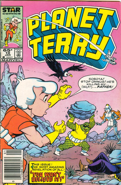 Cover for Planet Terry (Marvel, 1985 series) #10 [Newsstand]